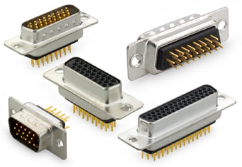 High Density D Connectors